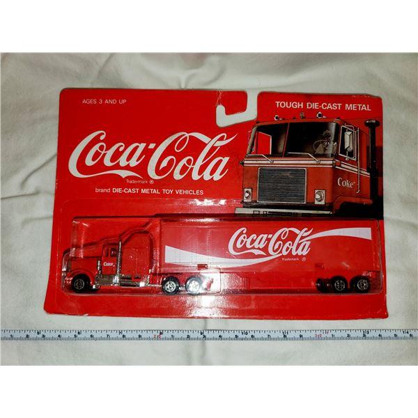 DIE-CAST COCA-COLA COKE SEMI TRUCK