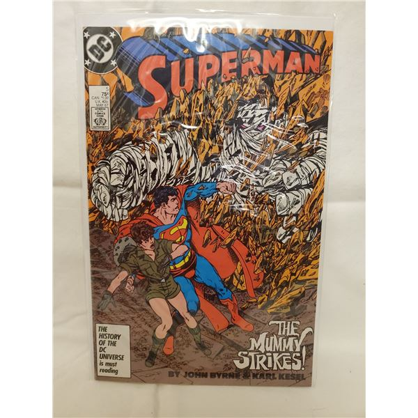 DC COMICS SUPERMAN #5 MAY '87