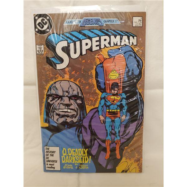 DC COMICS SUPERMAN #3 MAR '87
