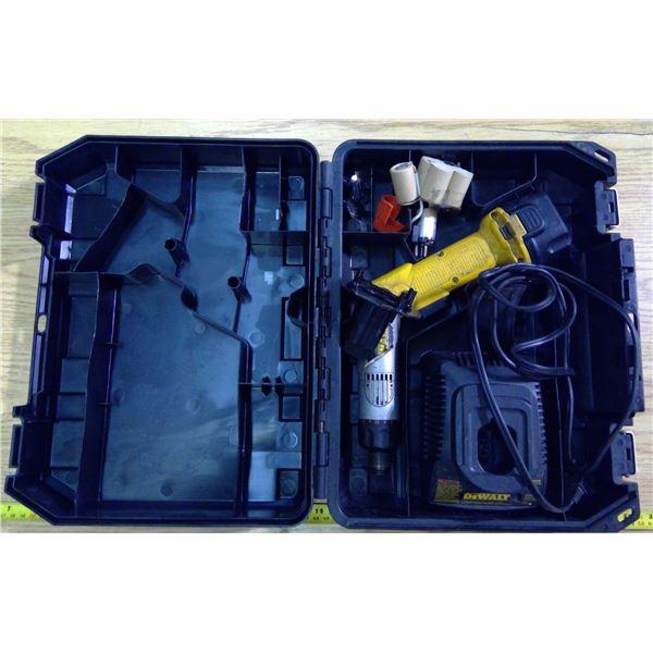 DeWalt Cordless Drill Set in Case - Battery NOT Working