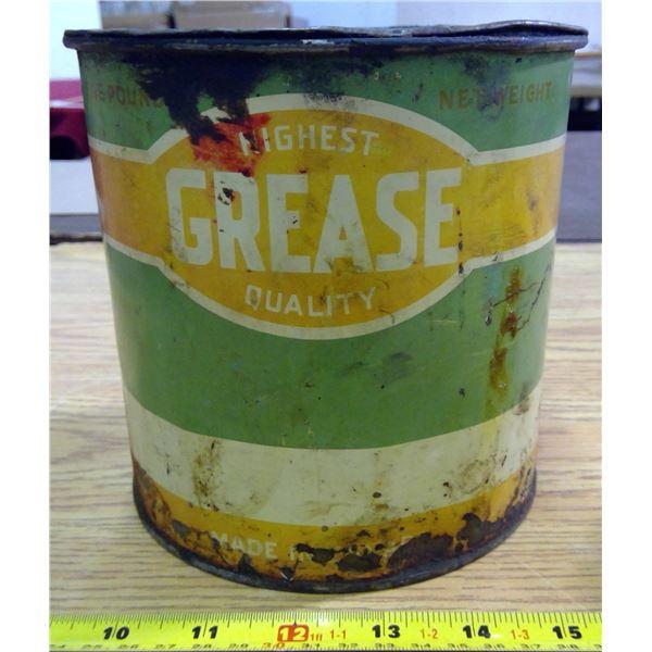 Vintage Grease Tin - Full
