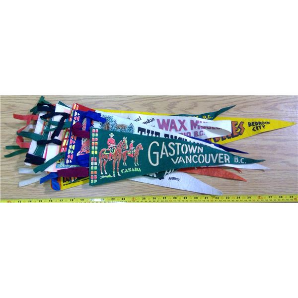 Lot of Vintage Banners - 12