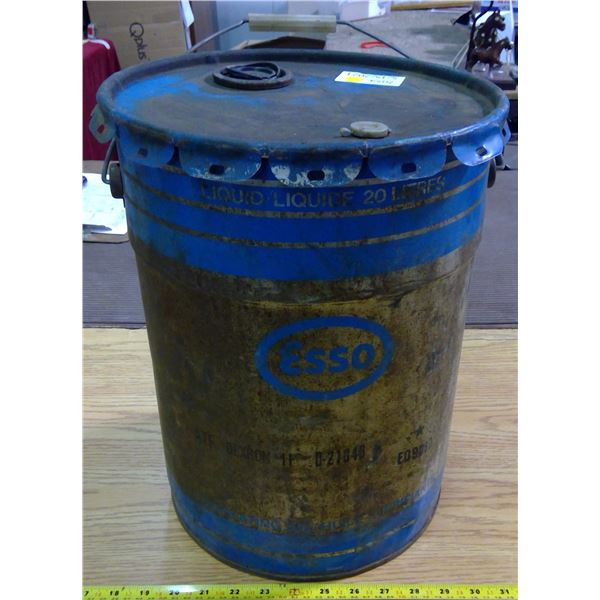 Vintage Esso Oil Can
