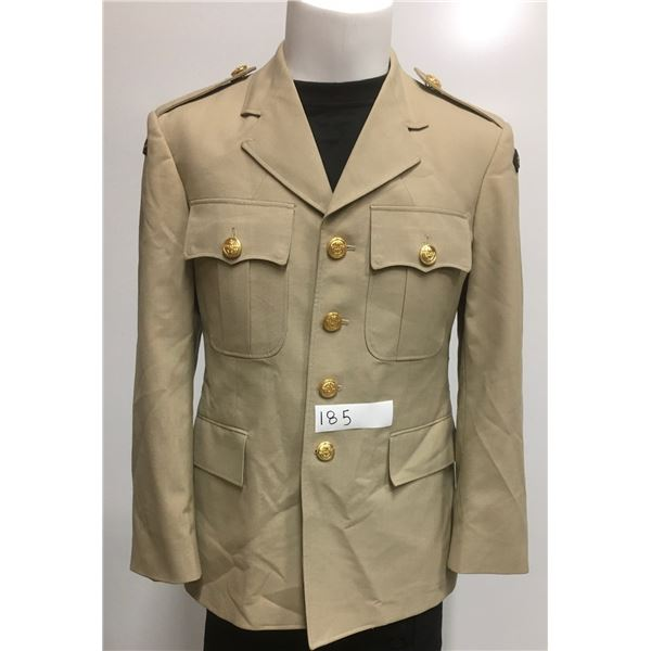 1988 Production Canadian Army Officers dress Jacket, Size Med