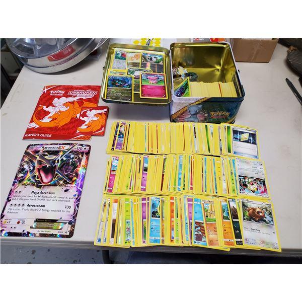 TIN FULL OF POKEMON CARDS