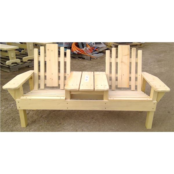 Children's Double Chair 17x28x23.25