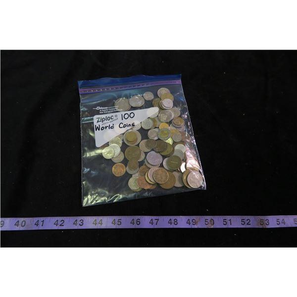 100 World Coins
