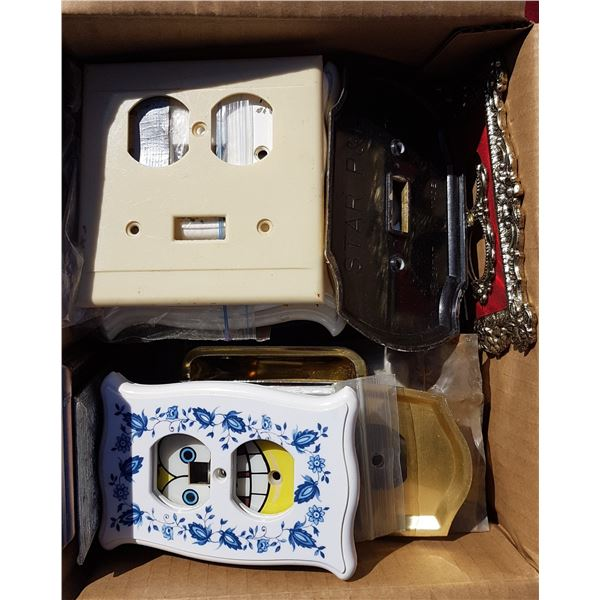 Lot Vintage Switch / Outlet Covers