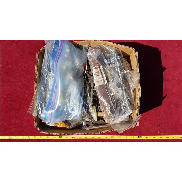 Box of Knobs & Pulls & Handles