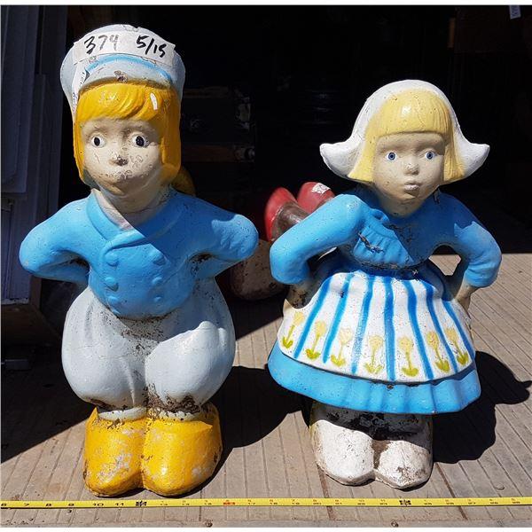 2 Concrete Dutch Kids