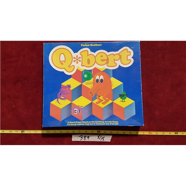 Qbert Arcade Board Game
