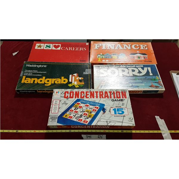 5 Board Games