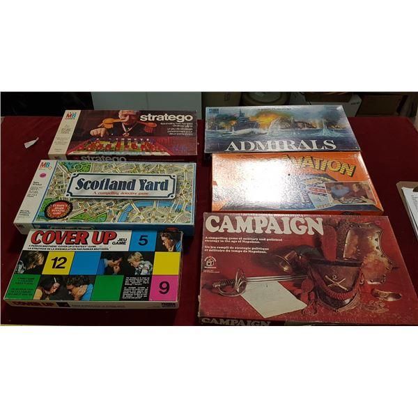 6 Board Games