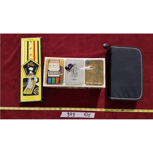 Lot Card Games & Shuffler