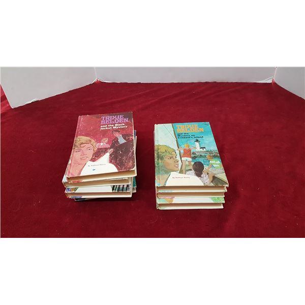 Lot Trixie Belden Books