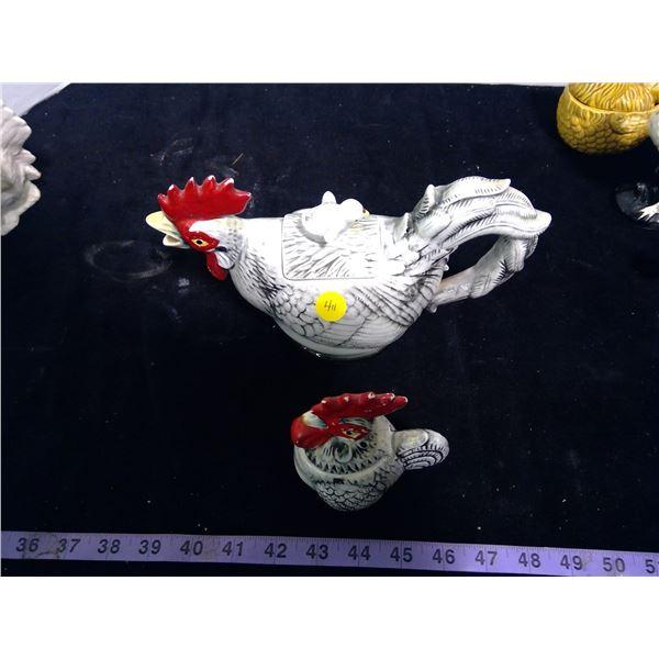 Chicken Creamer & Sugar Set