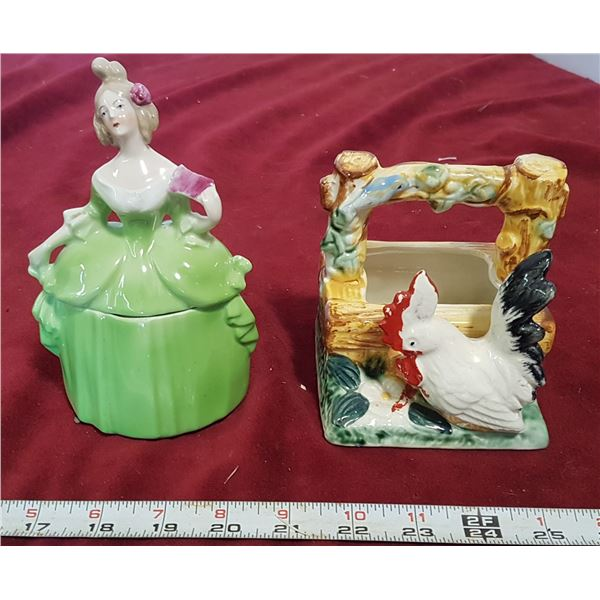 2 Ceramic Pcs.