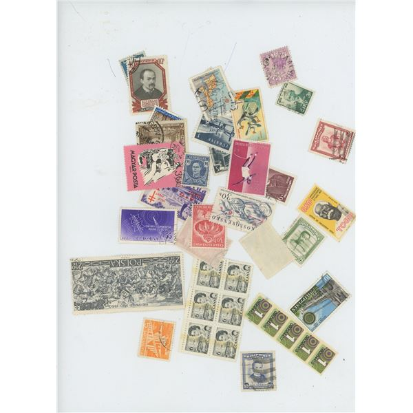 Lot Misc. World Stamps (Loose)