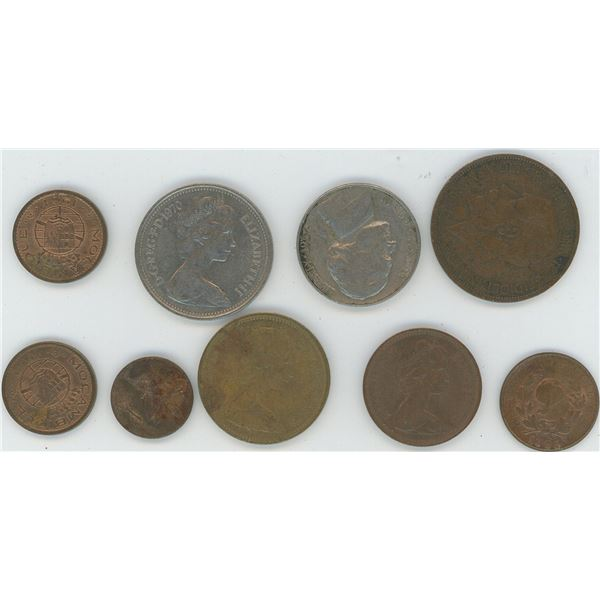 Lot 9 Various World Coins