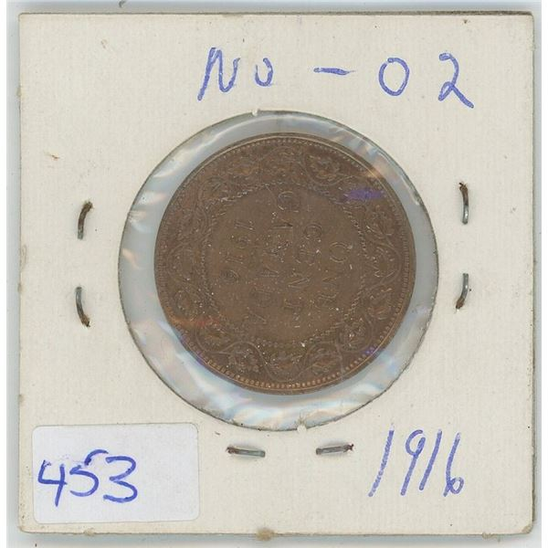1916 Canadian One Cent Coin