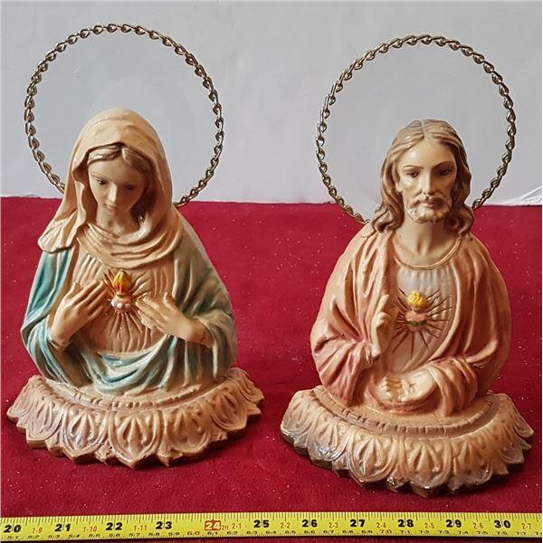 2 Religious Figurines