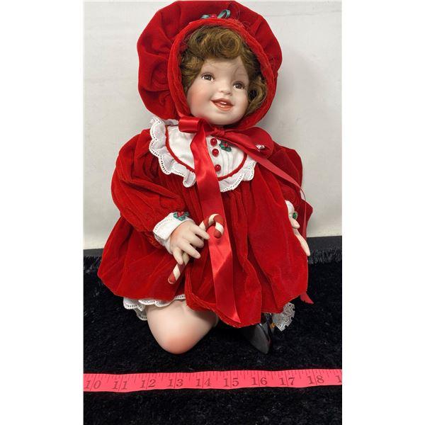 """The Ashton-Drake Galleries"" Vintage Red Doll"