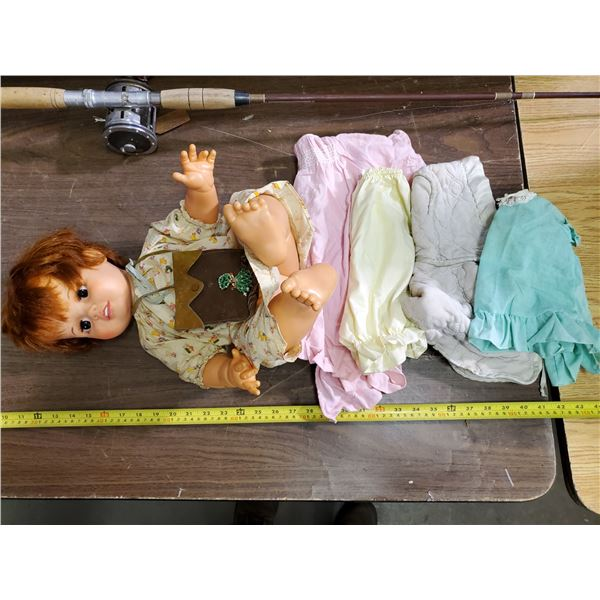 BABY CRISSY DOLL 1973 IDEAL TOY CORP.