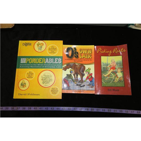 Lot 3 Books