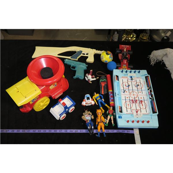 Lot of misc. Toys (The Real Ghostbusters, Batman, Tonka, etc.)