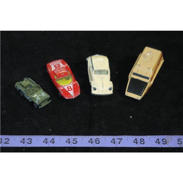 Lot of Vintage Die Cast Cars (Zylmex, Yatming, Playart)