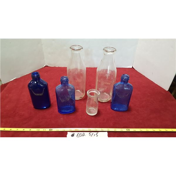 Lot Vintage Glass