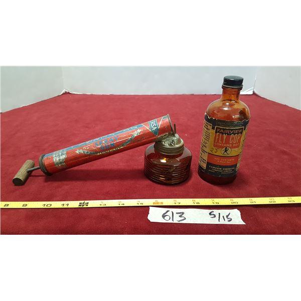 Insect Sprayer & Spray
