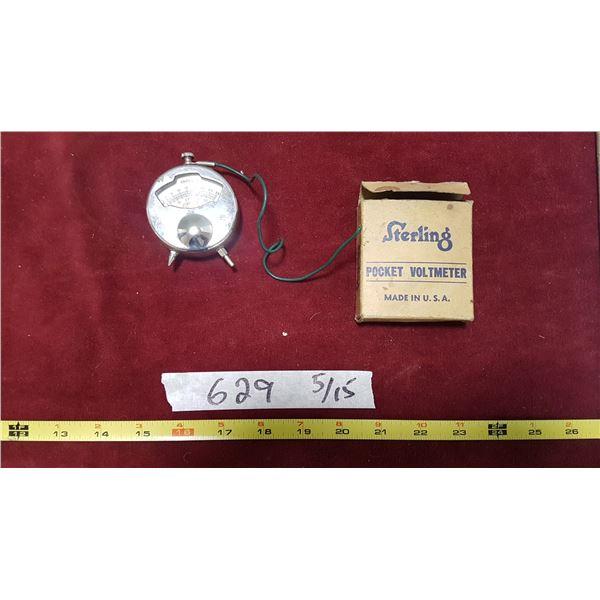 Vintage Pocket Voltmeter