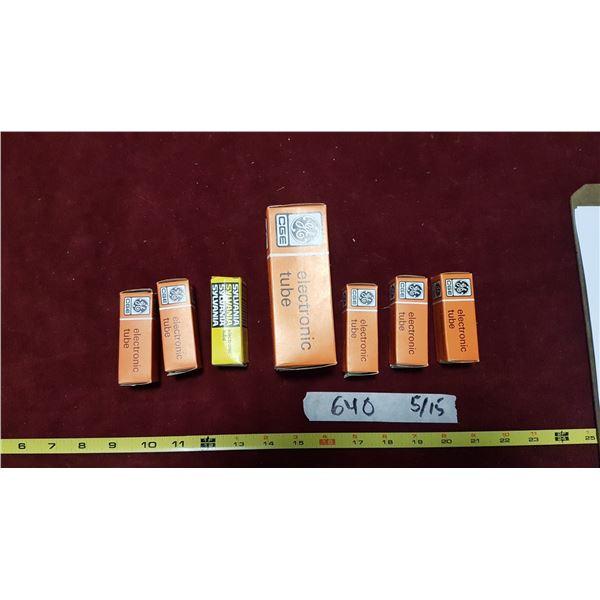 Vacuum Tubes (In Packaging)