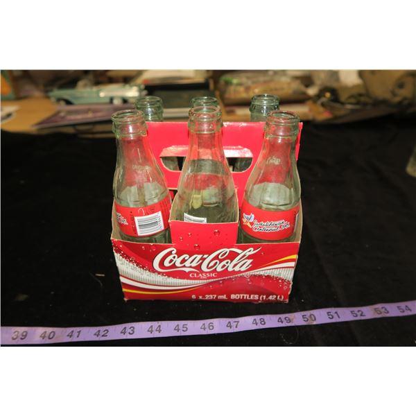 2005 Saskatchewan Centennial Coke Case