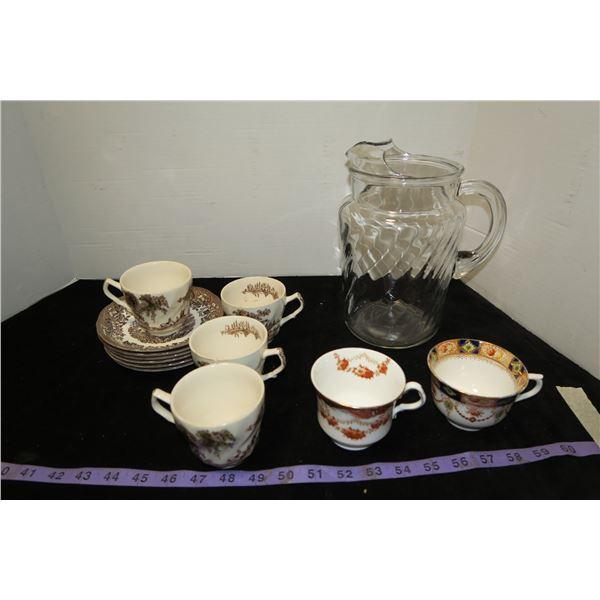 Tea Set + Pitcher