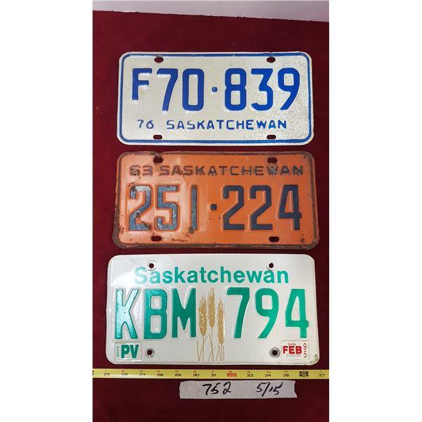 3 Sk. Plates 63, 76, 95