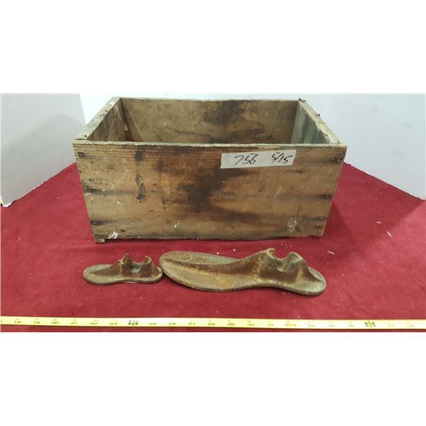Cobbler Tools & Peach Crate