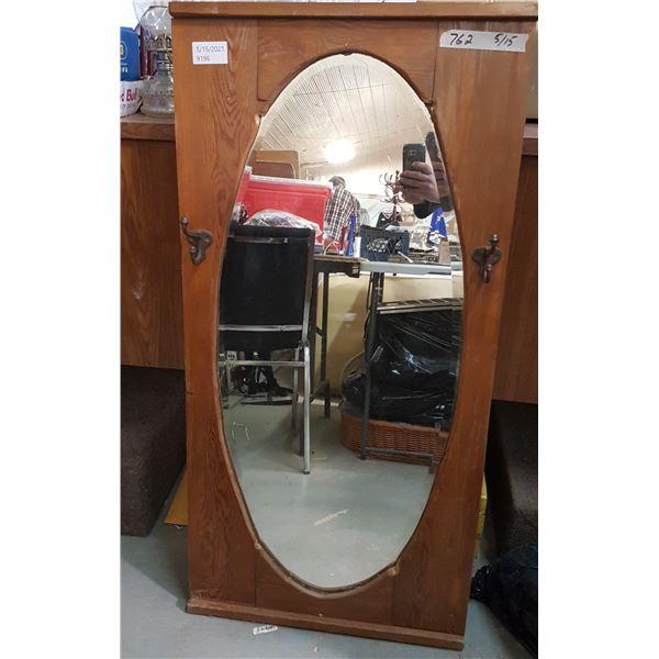 """Mirror Framed 22"""" X 45"""""""