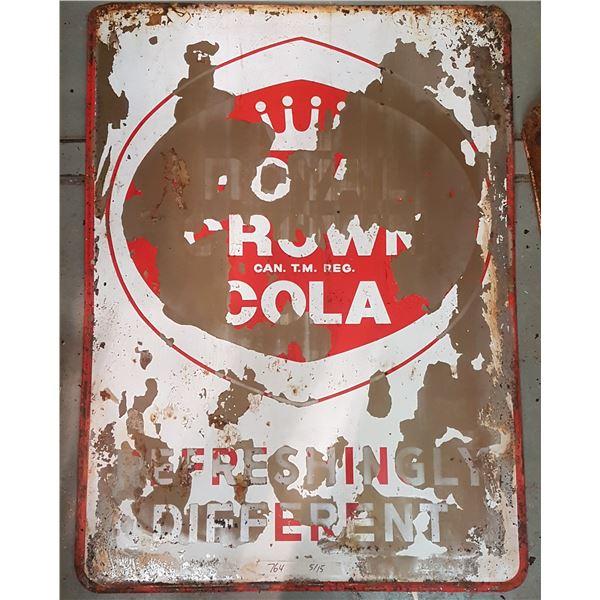 "Royal Crown Cola Sign 48"" X 36"""