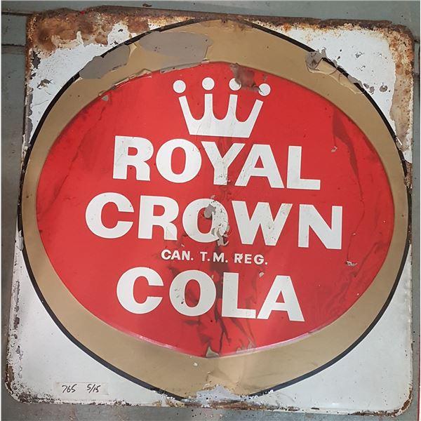 "Royal Crown Cola Sign 36"" X  36"""