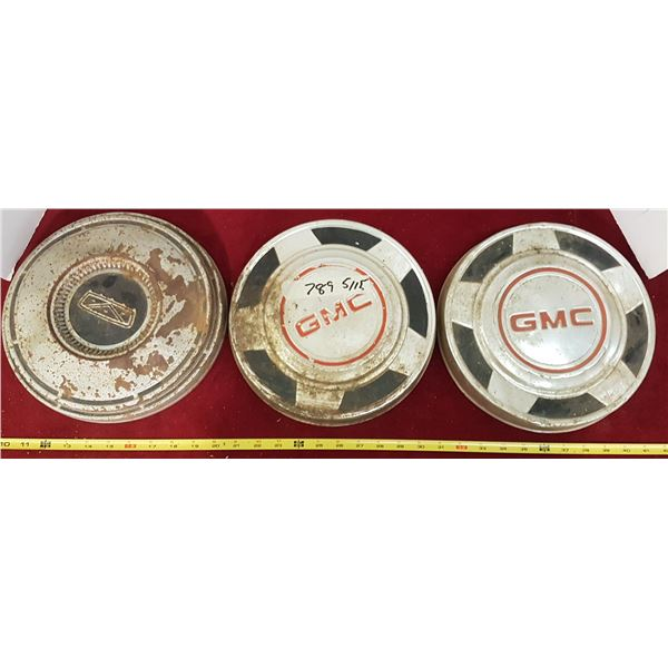 Lot 2 GMC Hubcaps & Other