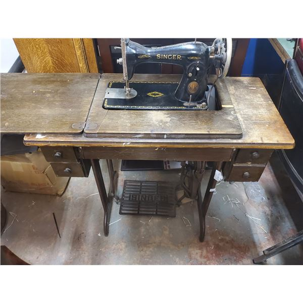 Cabinet Singer sewing machine model JB142452