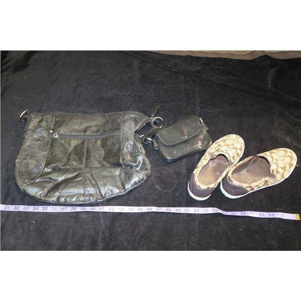 2 Bags + Coach Shoes