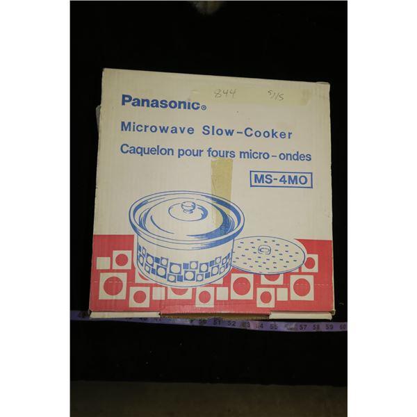 Microwave Slow Cooker, Panasonic (Original Box)