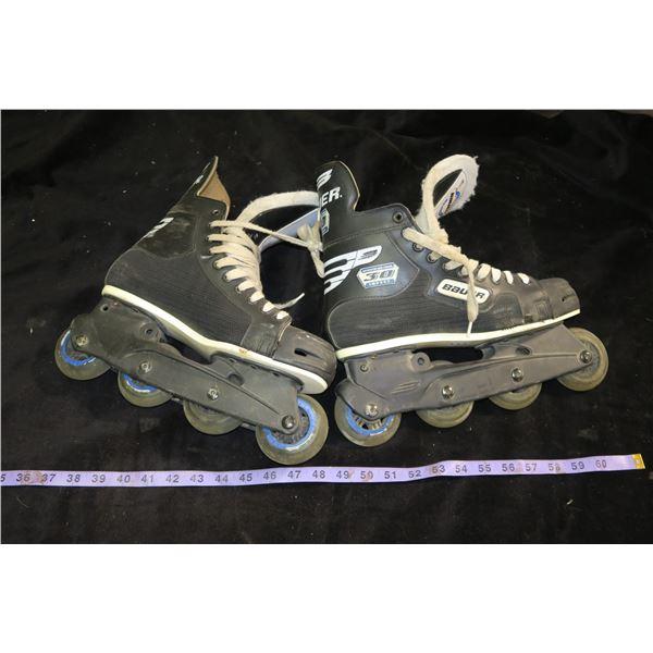 Bauer Inline Skates, Size Unknown