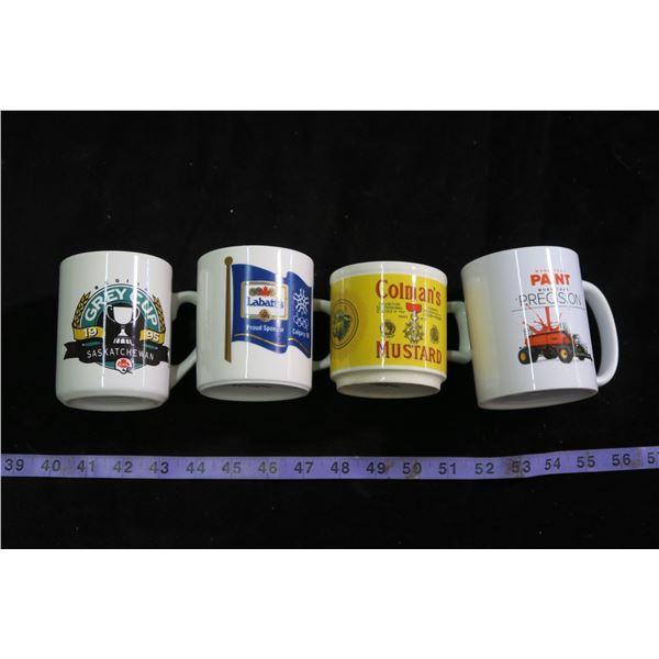 4 Ad/Souvenier Mugs