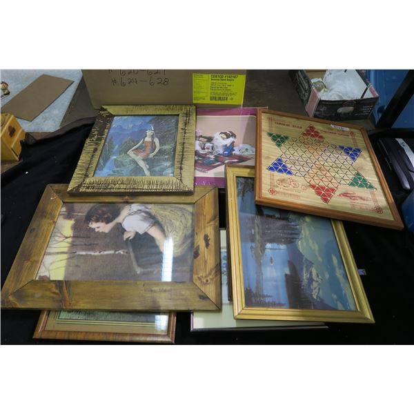 Lot of Frames/Wall Hangings