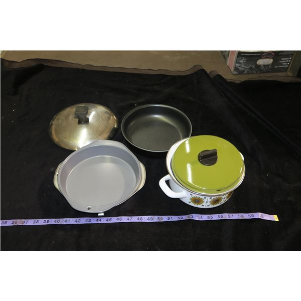 Lot Of Vintage Pots and Pans