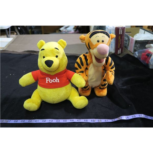 Pooh & Tigger Plushes with Voice Boxes